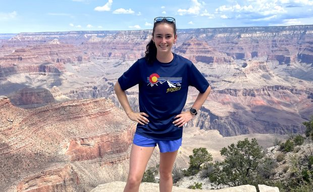 Sydney Runkle (Fenris Intern) at the Grand Canyon